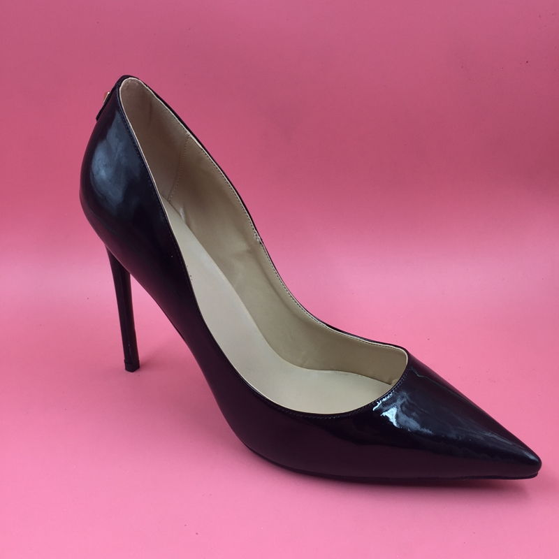 Popular Black Shiny Pumps-Buy Cheap Black Shiny Pumps lots from