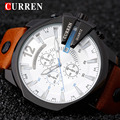 New Watches Men CURREN Luxury Brand Fashion Men's Quartz Watch Date Waterproof Sport Man  Clock Army Military WristWatch