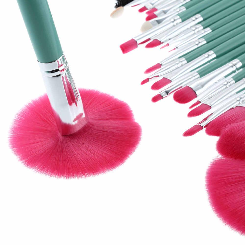 Abody 24 Pcs Pincéis de Maquiagem Kit de Maquiagem Profissional de Cosméticos Jogo de Escova de Madeira do Punho Superfine Fibre Maquiagem Escova + Bolsa saco Caso