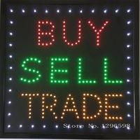 CHENXI New arriving led buy sell trade neon sign Laundry room business store signs indoor 19x19 Inch