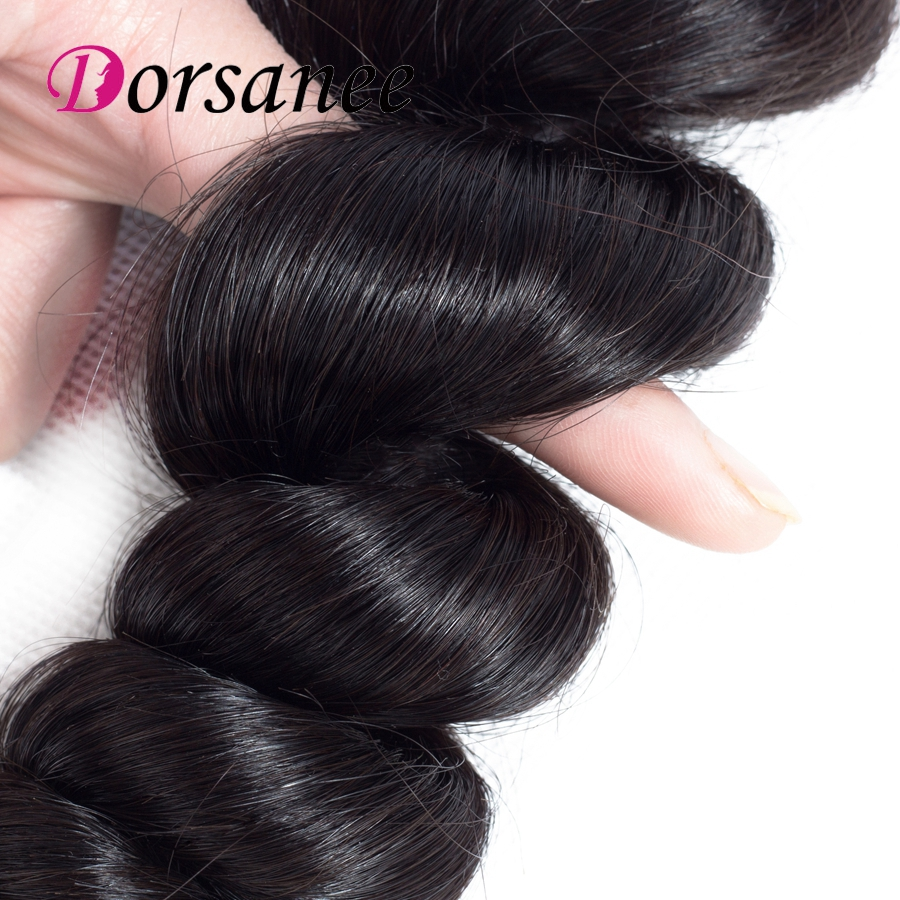 Dorsanee Loose Wave Brazilian Hair Weave Bundles Human Hair 3