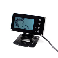 LCD Display EVC Electronic Boost Controller W Turbo Sensor and Electronic Valve/car meter/boost without logo