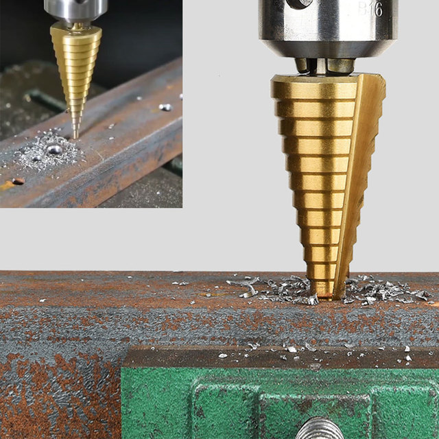 Broca 3-12mm 4-12mm 4-20mm paso cono corte herramientas Broca de Metal