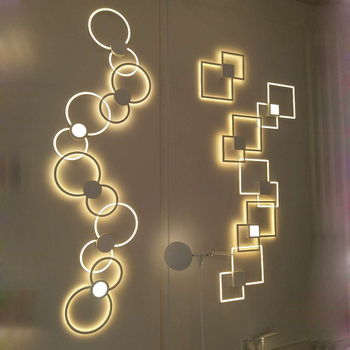 Modern Sconce Wall Lamp  Nordic Bedroom  LED Wall Light Living Room Decoration Wall lighting Fixture Home Indoor