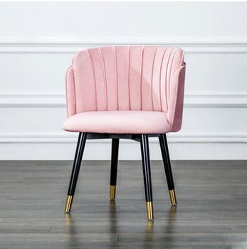 Nowoczesny Design krzesła wypoczynkowe krzesła hotelowe krzesła stołowe na meble do salonu tanie i dobre opinie 46*55*80 Nowoczesne MS-93 Minimalistyczny nowoczesny Rozrywka krzesło Salon krzesło Fabric Meble do domu