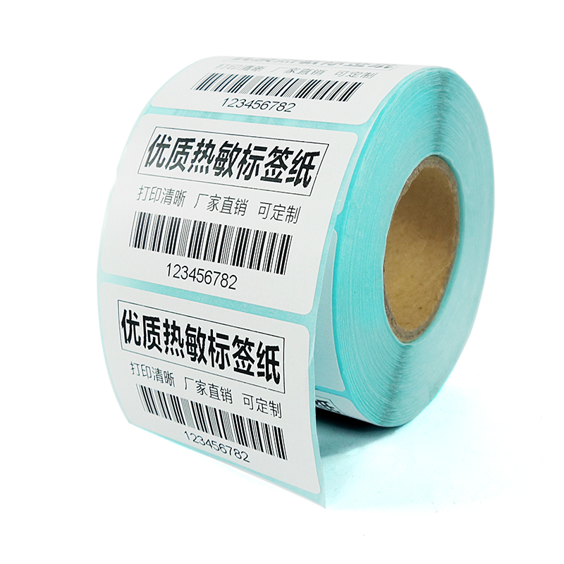 Direct Thermal Labels, 58mm x 37mm, White, Permanent Adhesive, Perforations Between labels, 1000 Stickers Per Roll