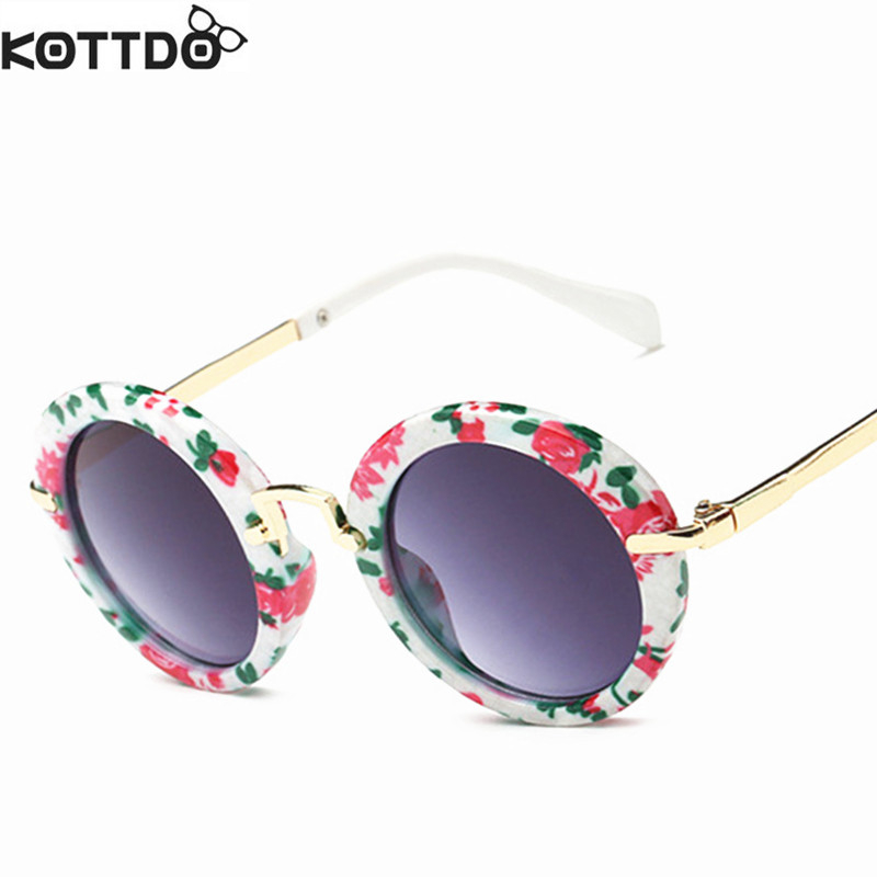 2019 Kids Solbriller Boys Kids Oculos Fashion Round Cute Brand - Beklædningstilbehør - Foto 6