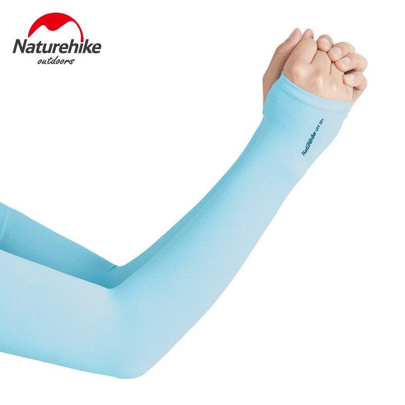 Naturehike proteção uv legal braço mangas para homens mulher protetor solar luvas de corrida golfe ciclismo condução tatuagem capa