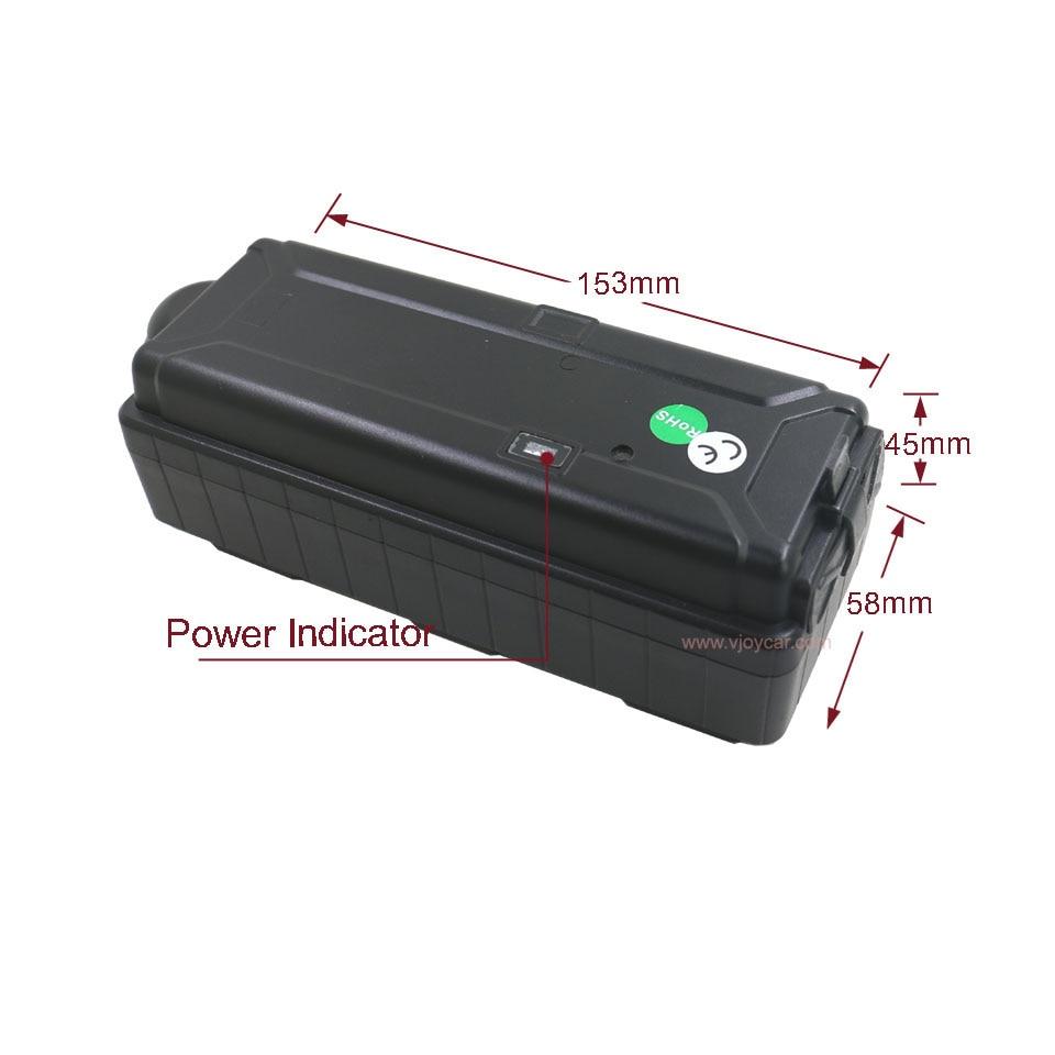VJOYCAR 3G WCDMA GPS Tracker Werk Wereldwijd 20000 mAh Grote batterij - Auto-elektronica - Foto 2