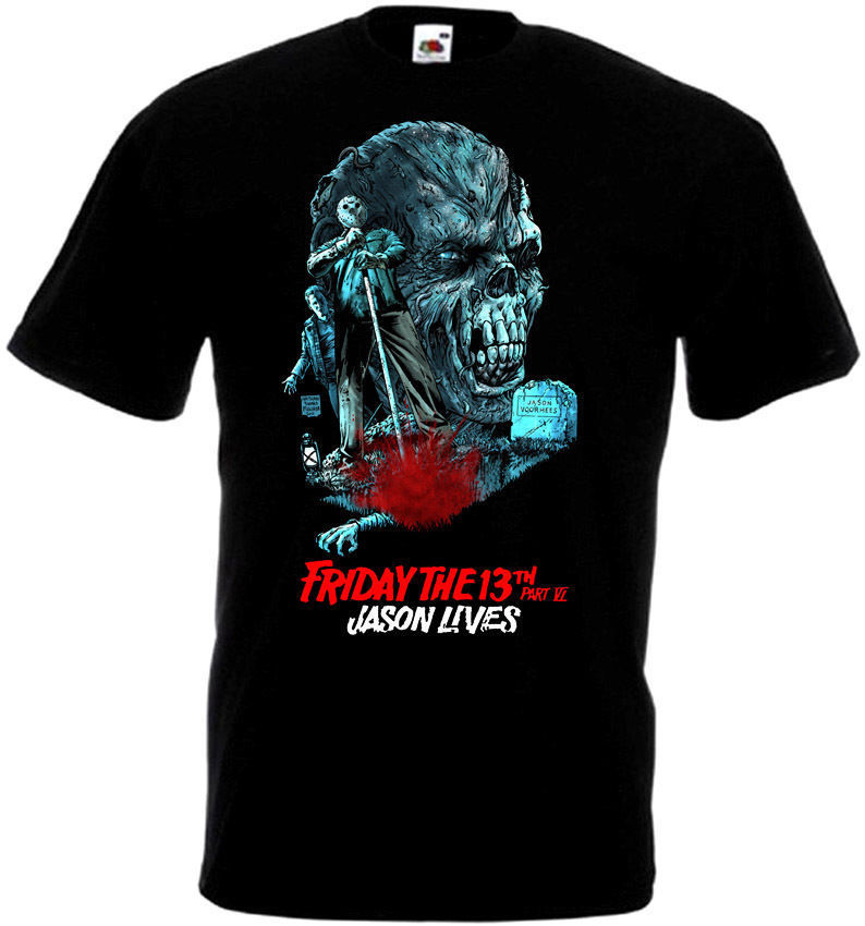 T Shirt With Mens Short Friday The 13 V45 T-Shirt All Sizes Sizes S To 3XL Black O-Neck Tall T Shirt Black Cotton T-Shirt