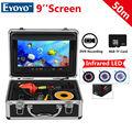 """Free shipping!EYOYO WF09 50m Fish Finder 8GB IR 9"""" LCD 1000TVL Fishing Camera DVR with Sunvisor"""