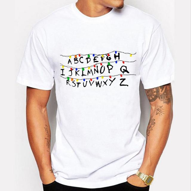 Newest 2017 Fashion Stranger Things T Shirt