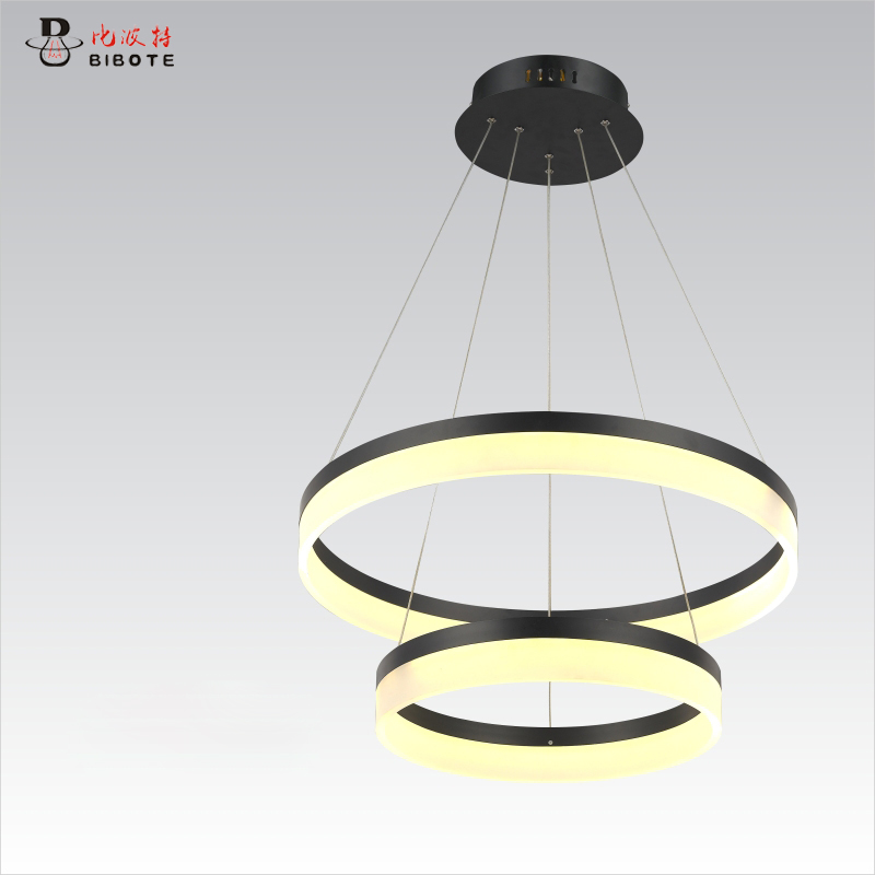 Circel Rings modern led pendant lights for dining living room acrylic cerchio anello lampadario pendant lamp lamparas modernas modern led pendant lights for dining living room acrylic 38w led pendant lights lamp lighting fixture lamparas modernas vallkin