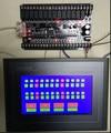 Fast Ship Livre Chinês FX1N PLC placa de controle industrial 32MRT + 485 fazer o download diretamente do monitor Placa de controlador programável PLC