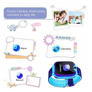 Image 4 - KG10 música reloj inteligente niños Cámara teléfono niño reloj Color pantalla táctil SOS Smart Baby Watch jugar juego música jugar reloj