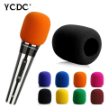 +Cheap Sale+Free Shipping+ Handheld Stage wireless microphone Windscreen Foam Mic Cover Karaoke DJ Sales Purple EN9992