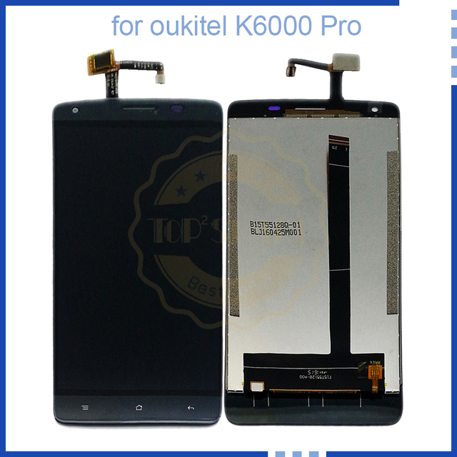 For Oukitel K6000 Pro LCD Display Touch Screen Digitier Assembly For Oukitel k6000pro  Display Screen Touch Free Tools