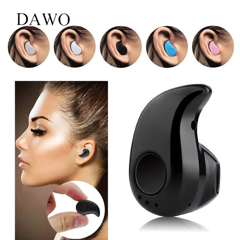 Mini Sport Wireless Bluetooth Earphones Bluetooth 4.1 Built-in Microphone Noise Cancelling IN-Ear For Iphone 7 plus 7 6s 6 plus