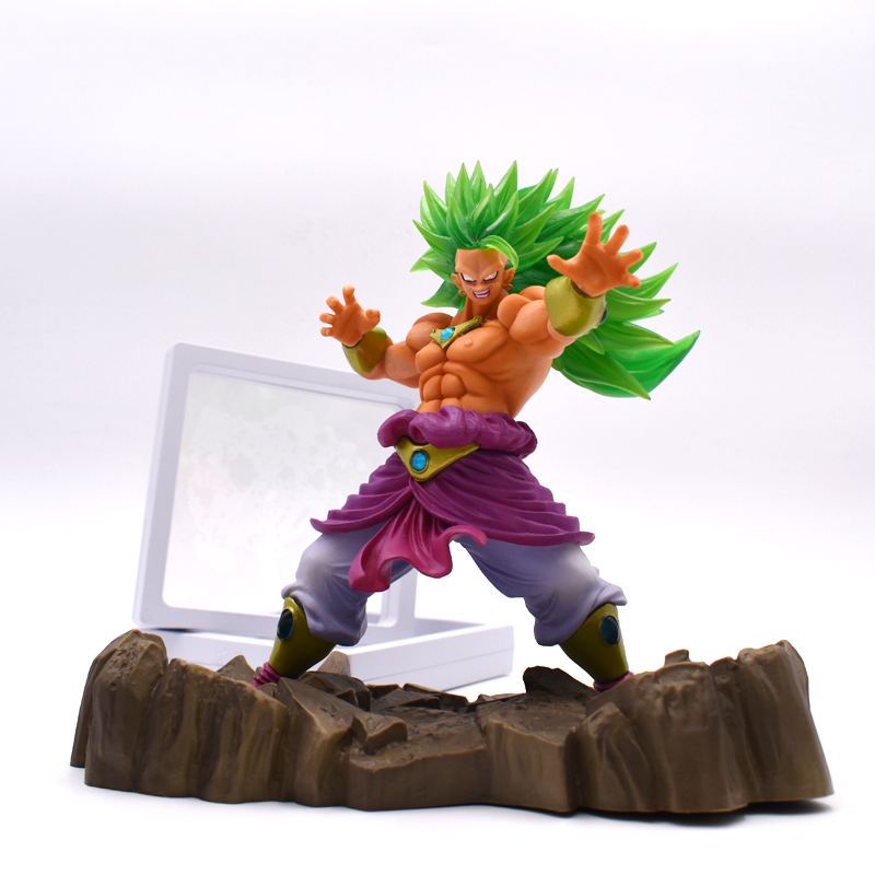 16cm Dragon Ball Z Super Saiyan Broli PVC Cool BROLY Action Figure Model Toy Movie&TV Anime Collectible Toy Free Shipping anime dragon ball figuarts zero super saiyan 3 gotenks pvc action figure collectible model toy 16cm kt1904