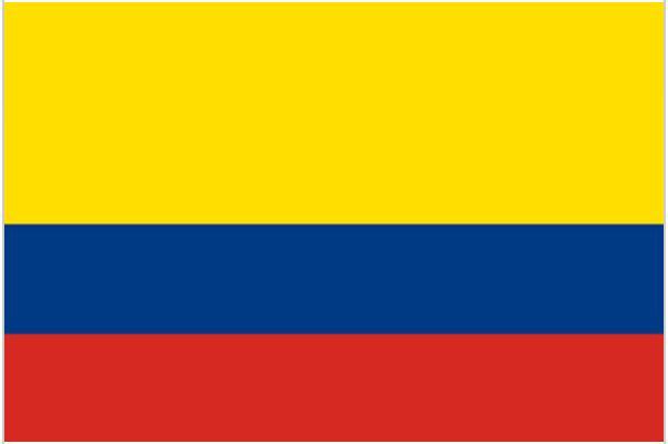 Resultado de imagem para colombia bandeira