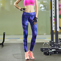 2016 Sexy High Waist Stretched  Clothes Spandex Quick-Drying  Women Sportswear Leggings Fitness Active Pants Y25064
