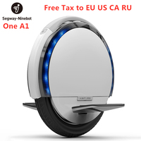 Ninebot One A1 Self Balance Electric Scooter 18km/h Unicycle Scooter Support Single Dual Batteries IP54 waterproof Hoverboard