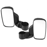 A Pair Set Shatterproof Car Styling Side View Mirror Set For UTV ATV Offroad High Impact