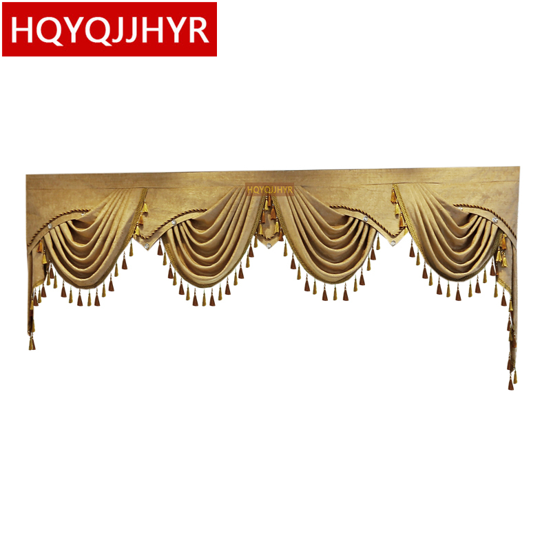13 Style Luxury Europe And America Valance Custom Made For Villa Living Room Bedroom Hotel Not Including Cloth Curtain And Tulle