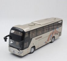 Collectible Alloy Model Gift 1:42 Scale Yutong ZK6118HQY8Y Double-decker City Transit Bus Vehicle DieCast Toy Decoration