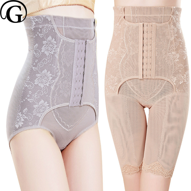 f1e7042f00 PRAYGER Plus Size Women Control Panties Double Compression Abdomen Girdle Shaper  Slimming Belly Shaperwear Lift Butt Underwear
