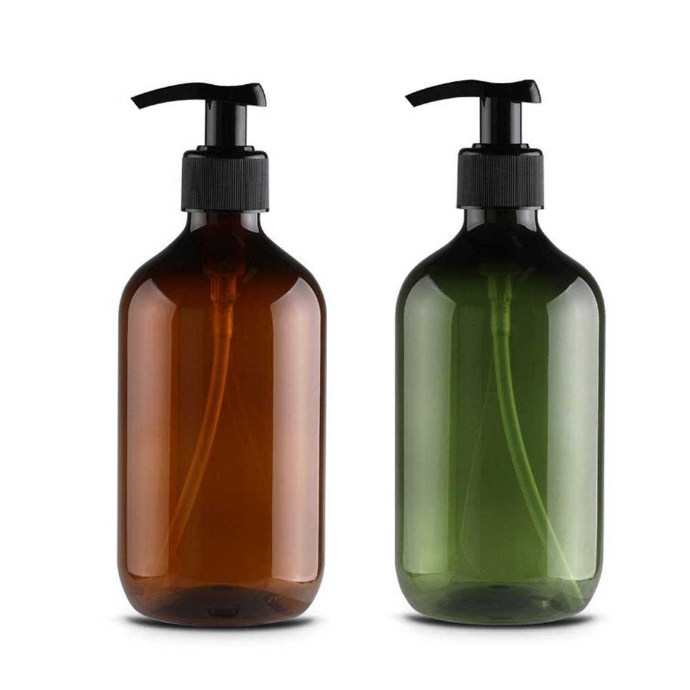 500ml Soap Dispenser Bottle Kitchen Cosmetics Shampoo Bottle Body Wash Lotion Hand Sanitizer Bottle Outdoor Travel Bottle