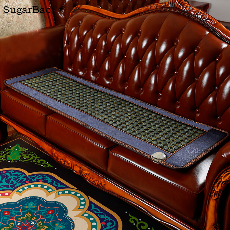 Jade Sofa Mat Tourmlaine Heated Mattress High Embroidery Made In China Free Shipping aluminum structrue made in china flsun 3d printer large size 260 260 350mm heated bed with two rolls filament sd card
