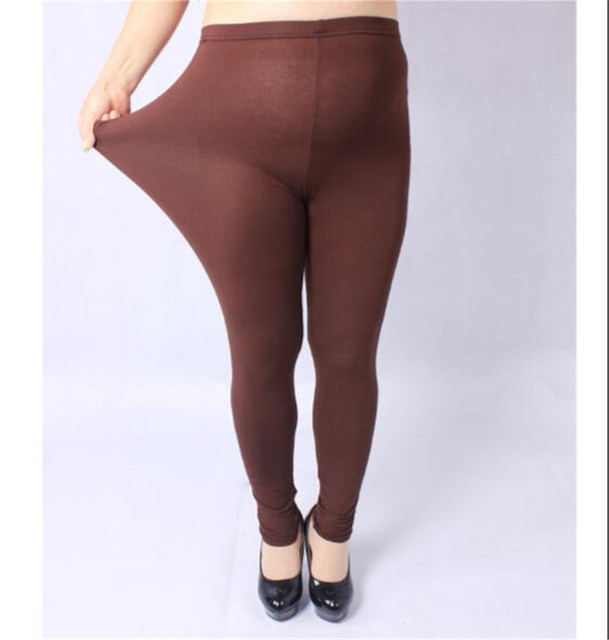 NEW Autumn Winter Legging Large size XXXL XXL for Sexy Elastic Soft Show Thin Women All-match Leggings Plus size 10 Colors