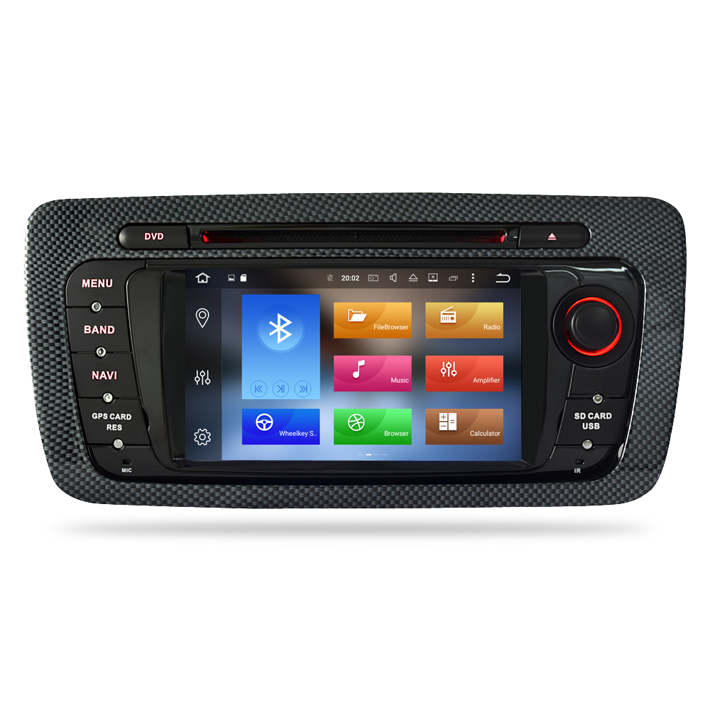 "Image 2 - 7"" HD Android 9.0 Car DVD For Seat Ibiza 2009 2010 2011 2012 Auto Radio FM RDS Stereo WiFi GPS Navigation Audio Video headunit-in Car Multimedia Player from Automobiles & Motorcycles"