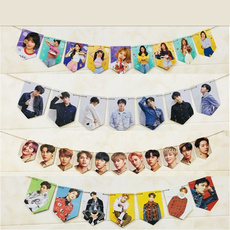 Charitable Youpop Kpop Bangtan Boys Got7 Twice Album Cards Self Made Paper Photo Card Photocard Map Of The Soul Hanging Painting Lu6665 Jewelry Findings & Components