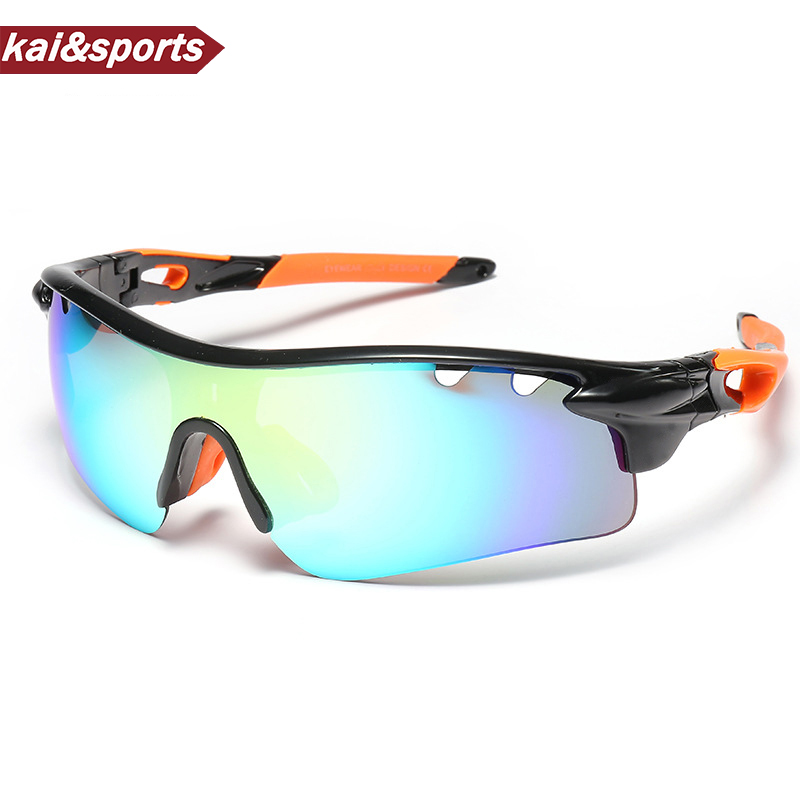 New Quality Skiing Glasses Outdoor Hiking Sunglasses Sports Glasses UV Brand Design HD Lenses For Riding,running,hiking...