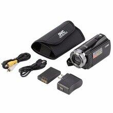"""Портативный видео Камера 720 P HD 16MP 16X ZOOM 2.7 """"TFT ЖК-дисплей Цифровая видеокамера Камера DV DVR черный, красный Лидер продаж 2017 года по всему миру"""