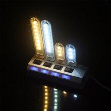 1 шт Mini 3 светодиодный s 8 светодиодный s USB 5V светодиодный Ночной светильник Настольная лампа для чтения книг, лампа для кемпинга детских подарков для мобильного Зарядное устройство ноутбуки
