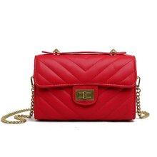 Crossbody Bags for Women Luxury Handbags Designer Shoulder Bags Chains Solid Women Bags 2019