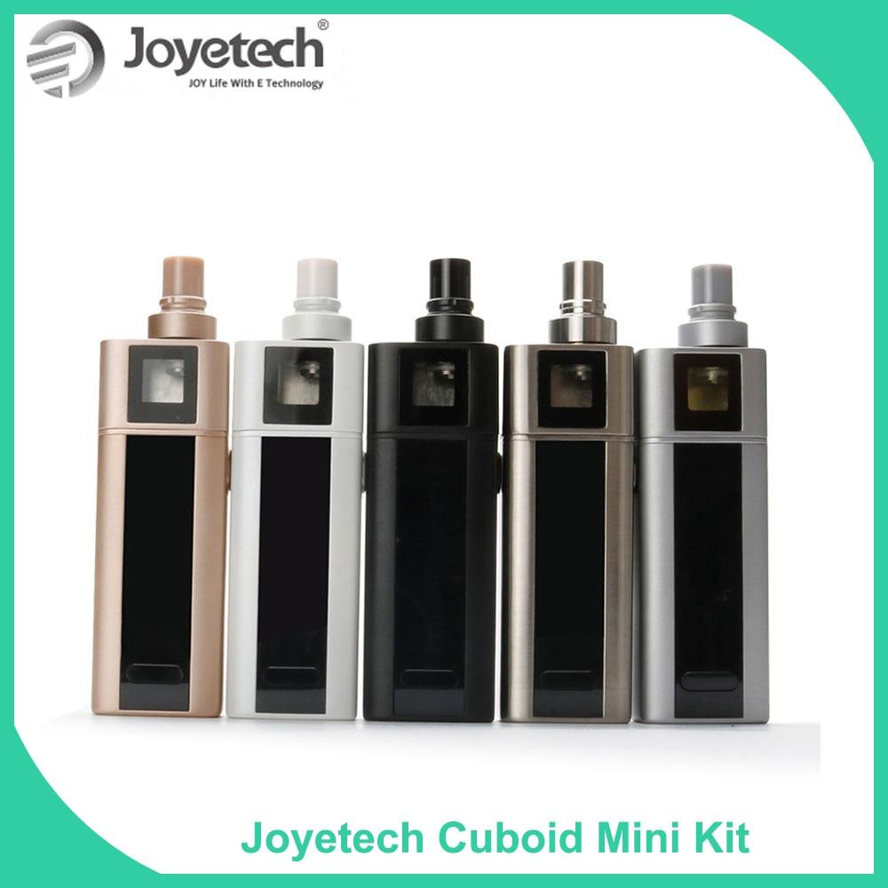 USA/Russia Warehouse Original Joyetech Cuboid Mini 80W Kit With 2400mAh Battery 5ml Atomizer Temperature Control E Cigarette