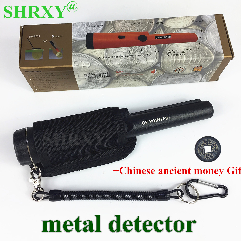 SHRXY Upgraded Sensitive Metal Detector Garrett pro Same Style Pro Pinpointing Hand Held Metal Detector scanner with Bracelet цена