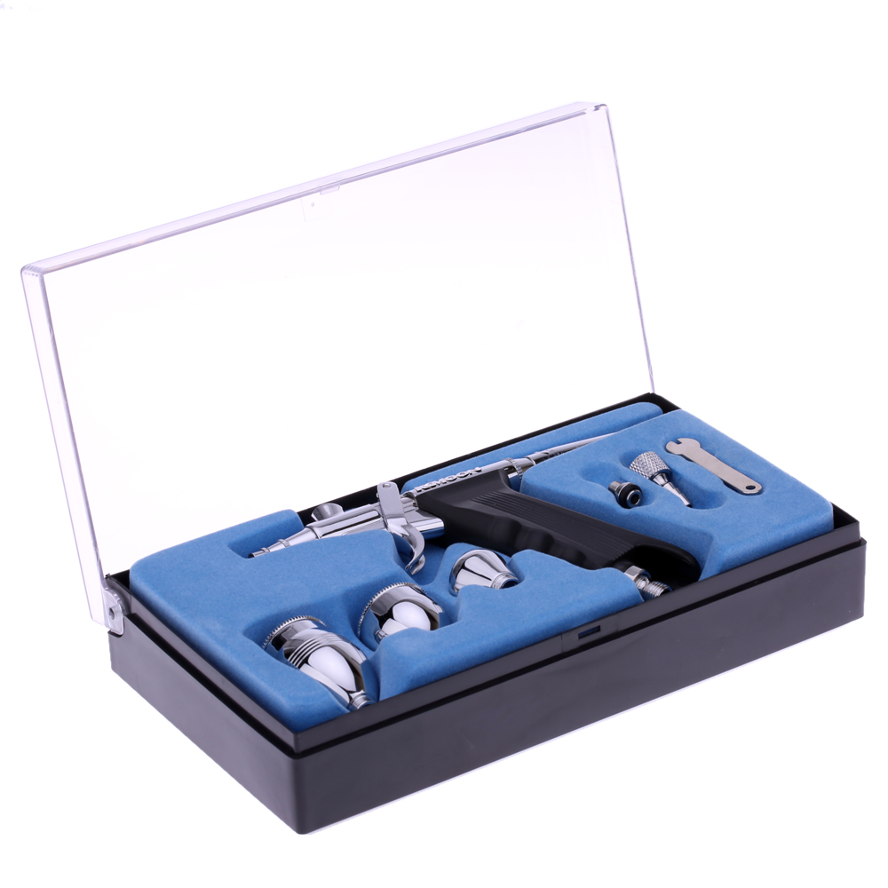 airbrush spray gun Double Action Pistol Trigger aerografo Set for Art Painting Tattoo Manicure Spray Model Air Brush Tool аксессуар sp section pistol trigger set 53114