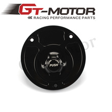 GT Motor - Motorcycle New CNC Aluminum Fuel Gas CAPS Tank Cap tanks Cover With Rapid Locking For DUCATI 848 & 1098