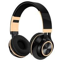 Wireless Headphone Bluetooth Headphone With Mic Foldable FM Radio Bluetooth Headset TF Card MP3 Wireless Earphones Phone Earbuds