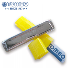 Tombo Educational Single 22 Harmonica Single Tone 22 Hole 22 Tone Key C Musical Instruments Kindergarten Primary School Children