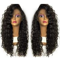 Fantasy Beauty Long Loose Curly Wig Synthetic Hair Lace Front Wigs For Women Heat Resistant Synthetic Hair Weave Full Wigs