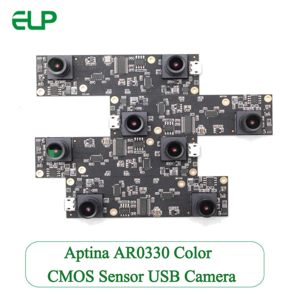 ELP webcam 2 megapixel Full HD 1080P AR0330 CMOS Aptina dual lens USB  Camera for people counting system