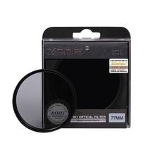 ZOMEI HOGE Kwaliteit Neutrale Dichtheid filtro ND2 ND4 ND8 Filter voor Canon Nikon Sony Pentax Camera Lens 52/55/58/62/67/72/77/82mm
