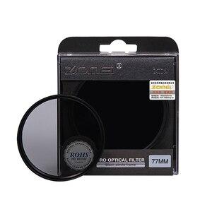 Image 1 - Zomei高品質中立密度フィルトロフィーnd2 nd4 nd8フィルターキヤノンニコンソニーpentaxカメラレンズ52/55/58/62/67/72/77/82ミリメートル
