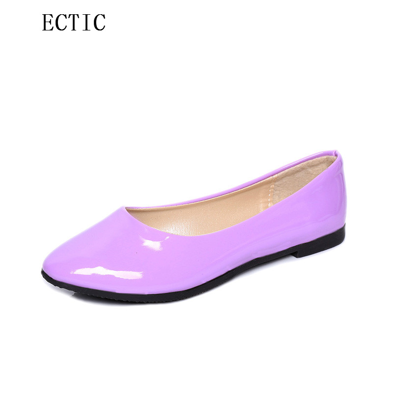 Female candy color Loafers Shoes Ladies Flat Shoes Ballet Flats Woman Ballerinas Casual Sapato Chaussure Femme Womens Loafer drfargo spring summer ladies shoes ballet flats women flat shoes woman ballerinas pointed toe sapato womens waved edge loafer
